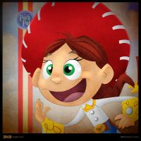 Disney Park Pals - Jessie by SillyNate