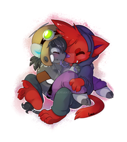 snuggles by Lintu