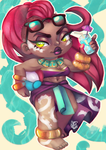 Illaoi Pool Party by ShiChel