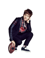 {PNG/Render #98} Baek Hyun (EXO) by Larry1042k1