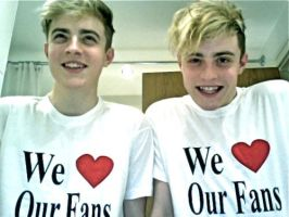 We love our fans by PlanetJedward
