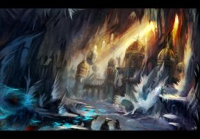 Crystal Cave by flaviobolla