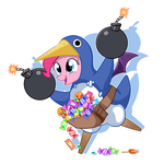 Prinny pie by CSImadmax