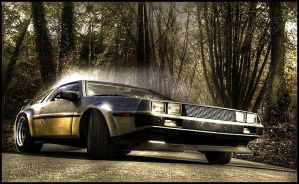 De Lorean by bobczar