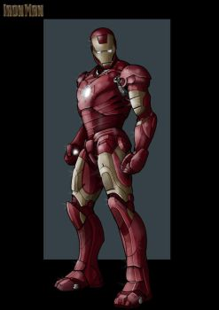 iron man -   commission by nightwing1975