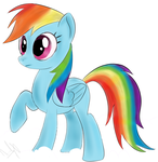 Rainbow Dash - Doesn't Know What To Make Of That by TheDashingRainbow