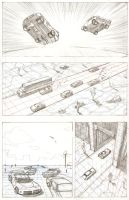 Car Chase page 1 by JoeOiii