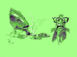 Fish Detective Concepts by Eyth