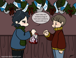 BBC Sherlock - Christmas Dinner Leftovers by caycowa