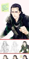 LOKI dont cry by levineh
