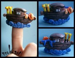 noah s ark thimble by prok-art