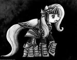 Ponies in Armor - Fluttershy by DivineArms