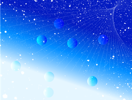 Abstract Blue Splatter Vector Background by 123freevectors