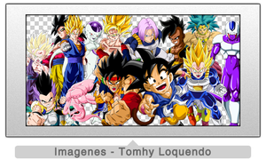 Pack Renders Dragon Ball Part 4 by TomhyLoquendo
