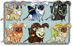 Mottipups Batch IV [Auction: Closed] by ResidualAdopts