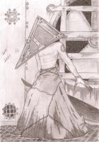 Pyramid Head Fan Art by BiOHazardHill