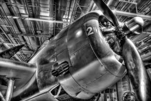 Avenger HDR B+W by galactica1actual