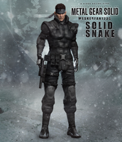Metal Gear Solid Twin Snake - Solid Snake Hd by WeskerFan1236