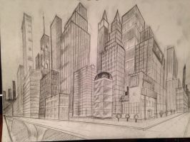 City scrapers by Lorredelious