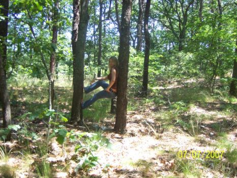 me in woods by Paige-1