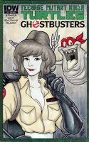 She Ain't Afraid Of No Ghost! by BigChrisGallery