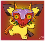 Sparks in Majora's Mask by pichu90
