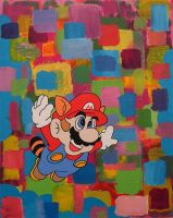 Super Mario 3 by popartmonkey