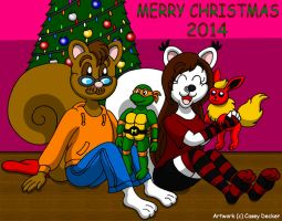 Merry Christmas 2014 by CaseyDecker