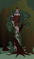 Tower Concept - Punzel by djeffers