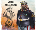 Soldiers: Colonel Walrus by Hndz