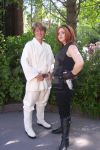 Mara Jade and Luke Skywalker, SWW 2010 by StageDoorGraphix