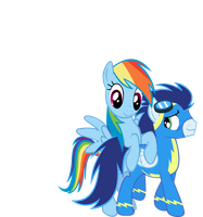 Soarin' through Rainbows ch. 3 by TheFireWolfAuthor