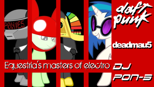Equestria's Masters of Electro by RDbrony16