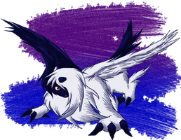 Absol-lutely Mega by Horobinota