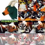 NEW WORK Realistic Houndoom Quadsuit WIP by Yuki-Moon