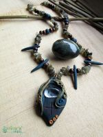Pine Spirit necklace by SuvetarsWell