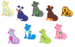 Updated Canine Pixel Adoptables | OTA | OPEN by WhatNames2