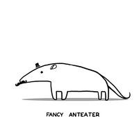 Fancy Anteater by arseniic
