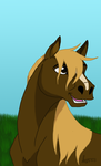 Cartoon Horse by coyotewinds