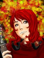 Guitar girl by lowstrikes