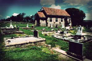 I Dream of Graveyards... by Saint-Whitlock