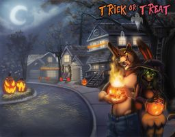 Rabbit Valley Cover- Trick or Treat Anthology by Ifus