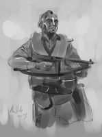 daily sketch  3285 by nosoart