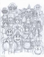 Legend of Mushroom Kingdom - The Climax by Thriller-Man