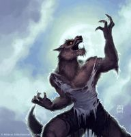 Howler by alexstoneart