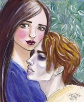 Twilight: Bella and Edward by purplerebecca