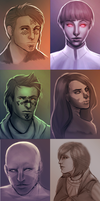 SWTOR Portraits by Estic