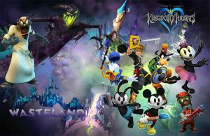 Kingdom Hearts New Worlds Waste Land by ryokia96