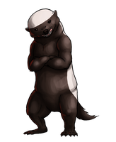 Honey Badger Don't Care by soyrwoo