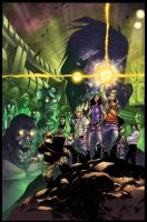 Fanboys vs Zombies Color Battle by BDStevens
